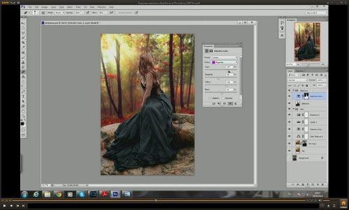 Как сделать арт фото в фотошопе видео