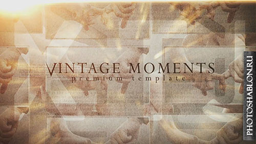 Vintage Moments - After Effects Templates