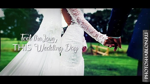 Cinematic Wedding Slideshow - After Effects Templates