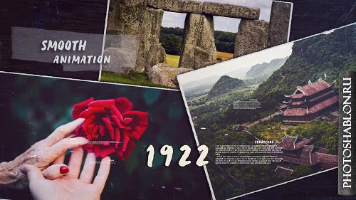 History Timeline III - After Effects Templates