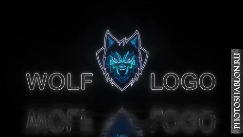 Neon Logo Reveal 77643 - After Effects Templates