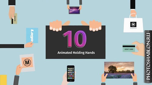 10 Animated Holding Hands 65254 - After Effects Templates