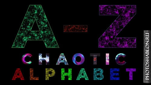 Animated Alphabet Chaotic Style Part 1 87706 - After Effects Templates