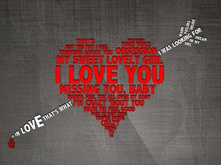 Картинка - I love you
