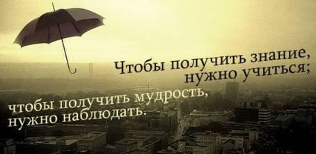 """Цитата: """"Чтобы получить знание..."""