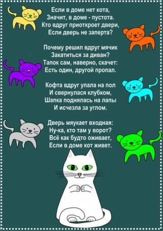 Картинка - Если в доме нет кота