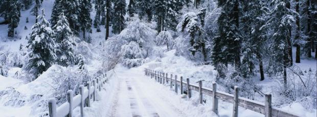 Обложка для Фейсбука - Зима
