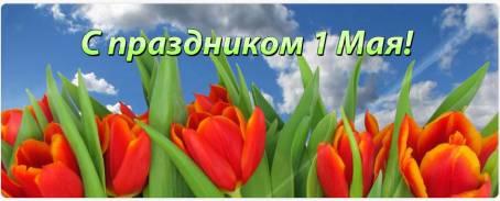 Картинка - С праздником 1 мая!