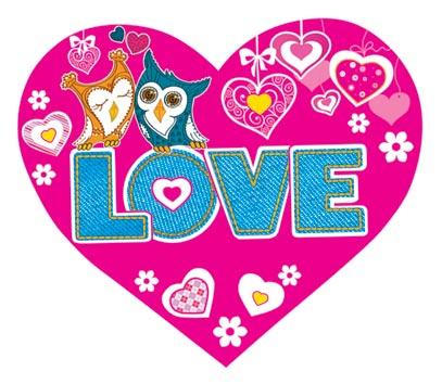 Валентинка - LOVE