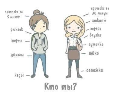 Картинка для ЛД для девочек - Кто ты?