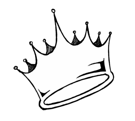 Картинка для срисовки - Корона