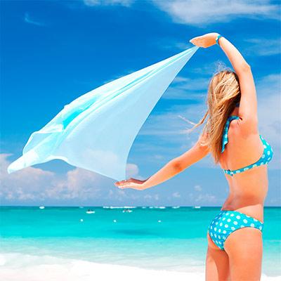 Красивое фото на аватар - Девушка в купальнике