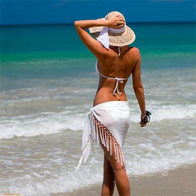 Красивое фото для девушки на аватар - У моря