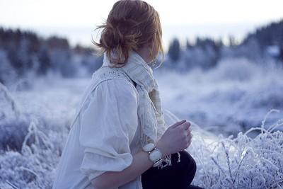 Картинка на аватар для девушек - Зима