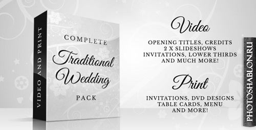 Complete Traditional Wedding Pack - Project for After Effects (Videohive)